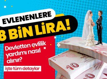 Evlenenlere68 bin lira