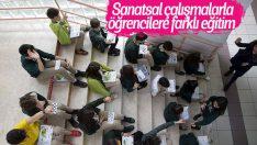 Öğrenciler geleceği okul koridorlarında tasarlıyor