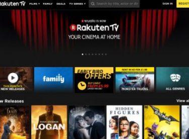 Rakuten TV, film akışını 42 Avrupa ülkesine genişletecek