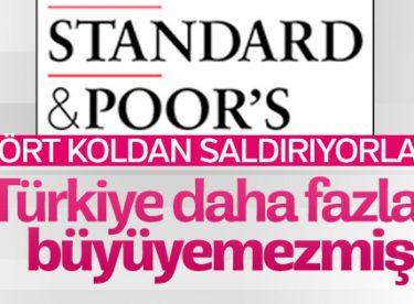 S&P Türkiye ekonomisinin küçüleceğini açıkladı