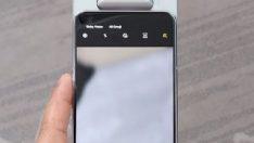 Dönebilen kameralı Samsung Galaxy A80 tanıtıldı