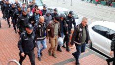Kocaeli'de FETÖ'den gözaltına alınan 8 kişi adliyede