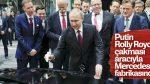 Putin yerli otomobiliyle Mercedes'i ziyaret etti