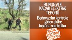 Şırnak'ta kaçak kontrolüne giden görevlilere saldırı