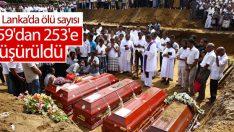 Sri Lanka'daki saldırılarda ölü sayısı 253'e düşürüldü
