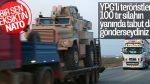 YPG'li teröristlere NATO tırları gönderildi