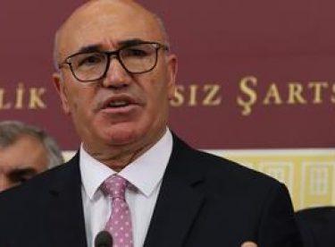 Mecliste terör eylemi girişimi! CHP'li Mahmut Tanal'dan açıklama