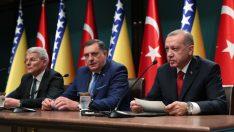 """Başkan Erdoğan: """"Bosna-Hersek'e elimizden gelen her türlü desteği vereceğiz"""""""