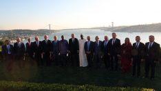 Erdoğan, misafir devlet ve hükûmet başkanları onuruna akşam yemeği verdi