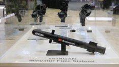 Silahlı kuvvetlere minyatür füze
