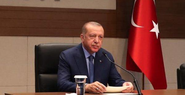 Başkan Erdoğan, Azerbaycan Cumhurbaşkanı Aliyev'i kutladı
