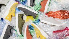 Geri dönüştürülmüş plastik şişelerden üretilen ReBotl spor ayakkabı