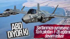 ABD: Türk pilotları eğitimine devam ediyor