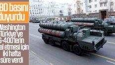 ABD'den Türkiye'ye S-400'lerin iptali için süre