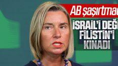 AB'den İsrail'e Filistin saldırılarında destek