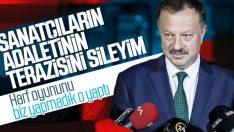 AK Parti YSK temsilcisinin sanatçılara tepkisi