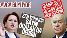 Bahçeli'yi eleştiren Akşener'e MHP'den yanıt
