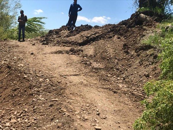 Bingöl'de heyelan riski taşıyan 2 ev boşaltıldı