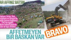 Bodrum'da milyon dolarlık villalar yıkıldı