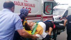 Büyükçekmece'de drift yaparken 7 öğrenciyi yaraladı