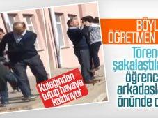 Çankırı'da öğretmenden öğrencisine meydan dayağı