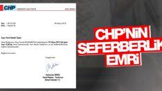 CHP, milletvekillerini ve İmamoğlu'nu Ankara'ya çağırdı