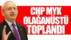 CHP'de MYK toplandı: Gündem seçimlerin iptali