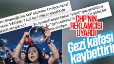 CHP'nin reklamcısından sevinmeyin uyarısı