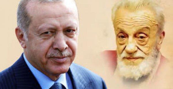 Erdoğan'dan Necip Fazıl Kısakürek paylaşımı
