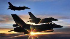 Irak'ın kuzeyine hava harekatı! Yerle bir edildi