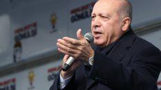 """Erdoğan; """"Biz Türkiye'nin büyüklüğüne, Türk milletinin gücüne inanıyoruz"""""""