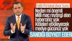 Fatih Portakal boykot seçeneğini hatırlattı