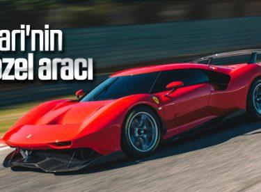 Ferrari yeni aracıyla büyüledi
