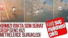 Genç kıza yaya geçidinde çarpan sürücü ehliyetsiz çıktı