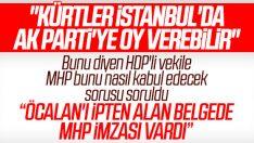 HDP'ye AK Parti'yi desteklerseniz MHP ne der sorusu