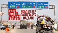 İdlib'de savaş göç riskini artırıyor