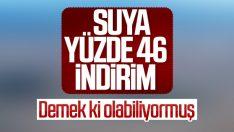 İstanbul'da su fiyatlarına indirim geldi