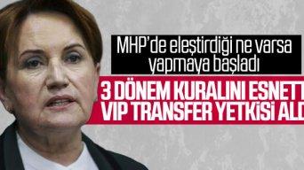 İYİ Parti'de 3 dönem kuralı gevşedi