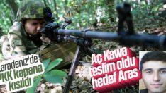 JÖH'ler terörist Aras'ın peşinde