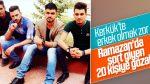 Kerkük'te şort giyenler gözaltına alındı