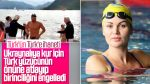 Milli yüzücü yarışı Ukraynalıya kazandırdı