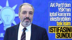 Mustafa Yeneroğlu istifasını sundu
