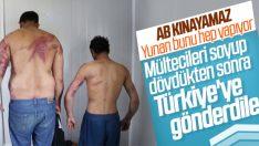 Pakistanlı iki göçmeni dövüp Türkiye'ye attılar