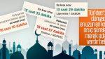 Ramazan bu yıl 29 gün sürecek