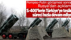 Rusya: Türkiye ile S-400 anlaşmamızda pürüz yok