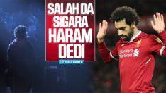 Salah'tan sigara bırakma kampanyasına destek