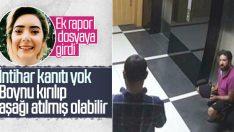 Şule Çet'in şüpheli ölümüyle ilgili ikinci rapor
