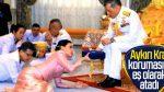 Tayland'da 3 gün süren taç giyme töreni