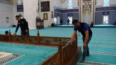 """Ramazan ayı öncesi Başkent'teki camilerde """"Temizlik Seferberliği"""" başladı"""