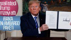 Trump İran'a yaptırımlar kararını imzaladı